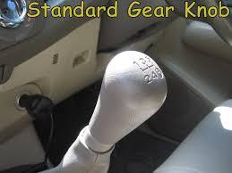 walnut manual gear knob toyota hilux mk6 vigo interior wood shift