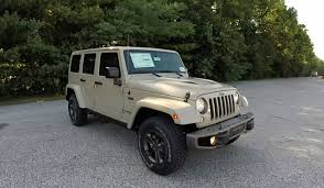 jeep sand color 2016 jeep wrangler unlimited 75th anniversary edition 4x4 18469