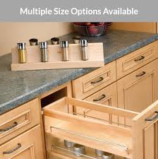 kitchen cabinet pull out storage racks rev a shelf spice rack insert for base pull out organizer