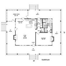 1 room cabin plans seeing porches hwbdo68492 cottage house plan from