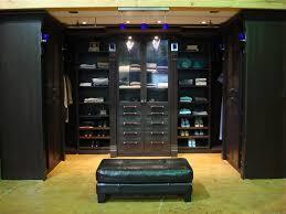 modern dressing room with closets to go portland organizer black