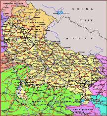 road map up bankura district map