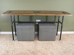Home Decorators Console Table Reclaimed Wood Iron Sofa Table Tehranmix Decoration