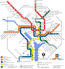 Dc Metro Blue Line Map by Washington Metro Map