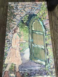 Secret Garden Wall by The Secret Garden Is A Novel By Frances Hodgson Burnett Lettuce