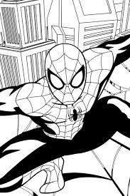 15 images nova ultimate spider man coloring pages ultimate
