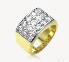ring men diamond cluster ring for men