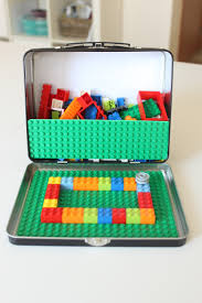 Diy Toy Box Kits by Portable Lego Kit For Little Travellers Mama Papa Bubba