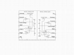 lm555ne555 timer and lm556ne556 dual truth wiring diagram components