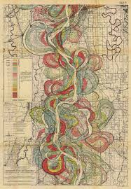 Map Of Missouri River See The Mississippi Shift Like A Snake Big Think