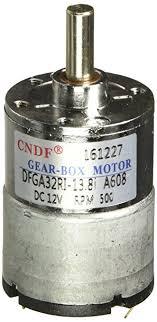 Jual Dc Gear Motor dc 12v 50ma 500rpm 0 3kg cm high torque permanent magnetic gear