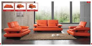 Living Room With Orange Sofa Living Room Furniture On A Budget Furniture Home Decor