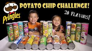 Of Challenge Pringles Challenge 20 Flavors Potato Chip Tasting