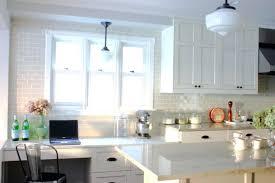 farmhouse style kitchen cabinets white marble subway tile backsplash kitchen style white farmhouse
