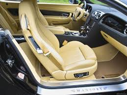 white bentley interior mansory bentley continental gt 2005 picture 9 of 14