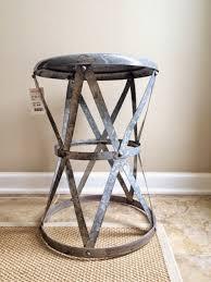 jessica stout design high vs low metal drum table