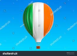 Irrland Flag Air Balloon Ireland Flag 3d Stock Illustration 659938855