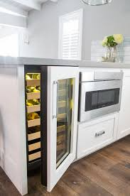 Kitchen Cabinet Dimensions Best 25 Wine Cooler Fridge Ideas On Pinterest Integrated Wine