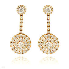 gold earrings online buy beautiful disc gold earrings online in pakistan tesoro pk