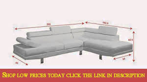Right Sectional Sofa Faux Leather Sectional Sofa Ialexander Me