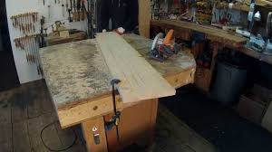 Making A Wood Plank Table Top by Furniture Making Technique Warped Wood Fix Youtube