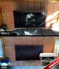 clean soot fireplace glass 15 door gas brass insert 1427 interior