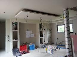 plafond de cuisine photo coin cuisine finit avec le faux plafond un banddea