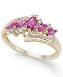 rings com images Ruby rings shop ruby rings macy 39 s tif