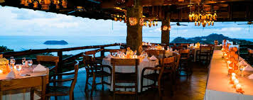 costa rica destination wedding restaurants in costa rica find best restaurants in costa rica