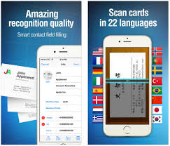 Scan Business Cards Android Best Iphone Business Card Readers Scanners Apps That Scan Card