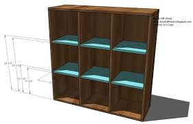 Pottery Barn Teen Bookcase Ana White Cubby Bookcases Modular Office Collection Diy Projects