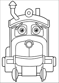 printable kids chuggington coloring pages cartoon coloring pages