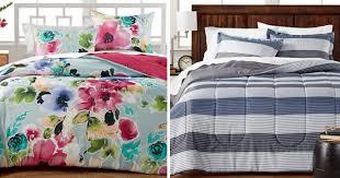 Macy Bedding Comforter Sets Macy U0027s Com 3 Piece Reversible Comforter Sets Just 19 99
