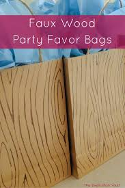 wooden party favors best 25 cing party favors ideas on cing party