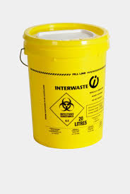 wall mounted sharps containers single use 17 litre one piece sharps container interwaste