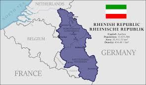 Koblenz Germany Map by Rhenish Republic Imaginarymaps
