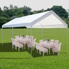 amazon com 10 x 20 steel frame canopy shelter portable car