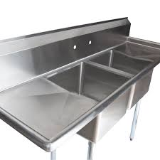 used 3 compartment stainless steel sink awesome furniture astonishing commercial stainless steel for pics of