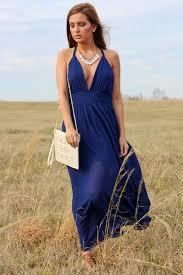 dress maxi maxi dress navy dress summer preppy boho blue