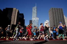Chicago Marathon Map Chicago Marathon News Chicago Tribune