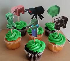 minecraft cupcakes best 25 minecraft cupcake toppers ideas on minecraft
