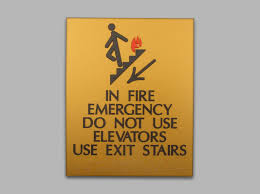 elevator signs and ada signage erie custom signs
