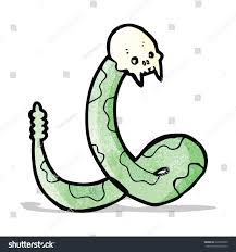 spooky clip art spooky snake cartoon stock vector 226535005 shutterstock