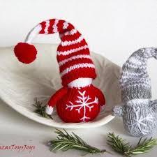 waldorf christmas gnomes pdf knitting patterns christmas