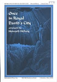 once in royal david u0027s city