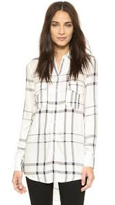 cupcakes and cashmere papi plaid button down shopbop