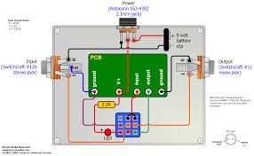 triple pole double throw true bypass wiring diagram 3pdt
