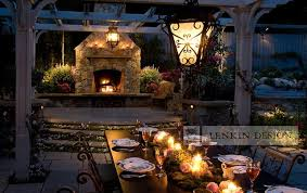 Landscape Lighting Los Angeles Outdoor Dining Table Lighting Traditional Landscape Los