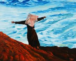 saatchi praise and thanksgiving for his sunset painting by