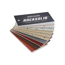 rust oleum rocksolid 10 color fan deck color sample 292808a the